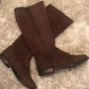 Steve Madden knee high leather boots
